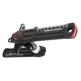 Rotor 2INpower Kurbel 110 mm schwarz matt/rot